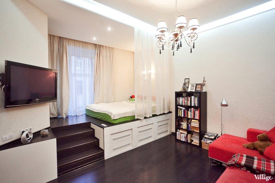 Интерьер для маленьких квартир студий